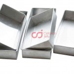 CJ Cetakan Loyang Aluminium Brownies Set isi 5